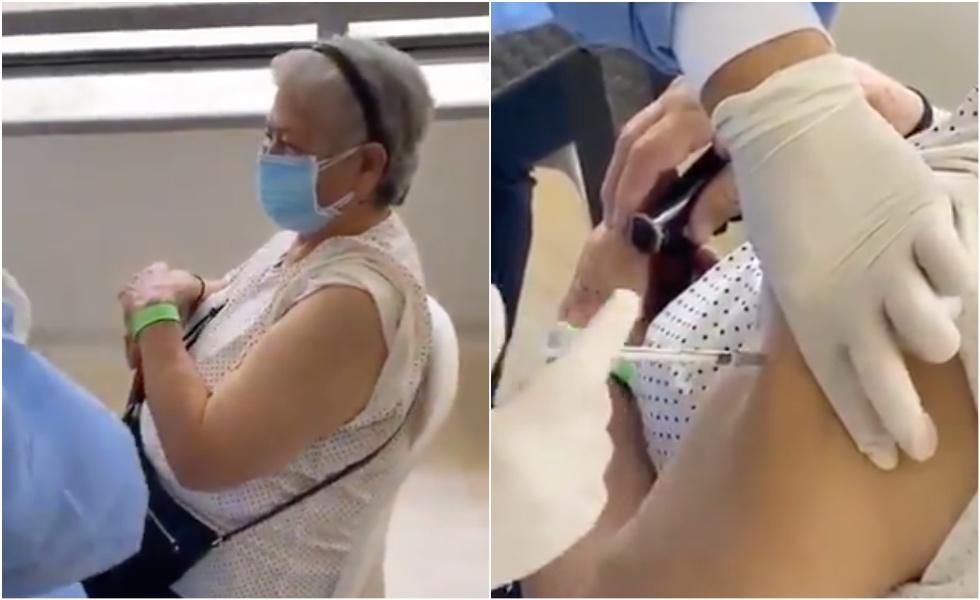 La explicación que dio la enfermera que vacunó a mujer con jeringa vacía en Santander